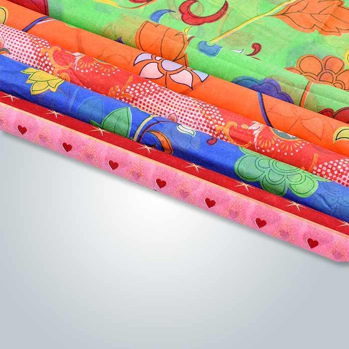 Max 6 colori 230 cm Larghezza stampato Spunbond Non tessuto per tappezzeria