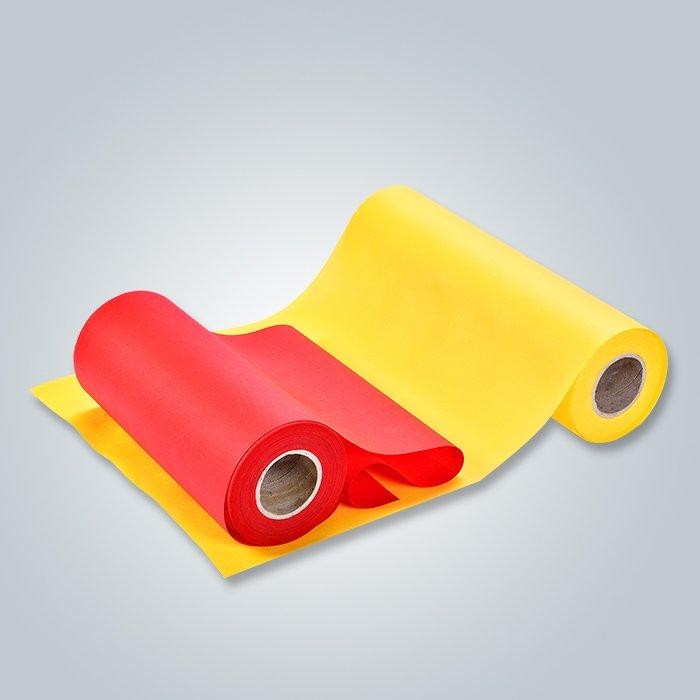 Achetez en vrac un tissu non tissé spunlace jetable en vrac pour le drap de lit-1