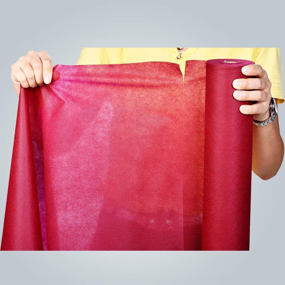 Rotolo pre-tagliato in PP non tessuto per tovaglie al mercato francese