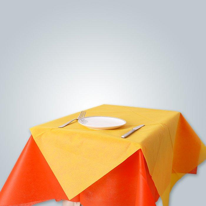 पार्टी भोज Foshan फैक्टरी के लिए प्रयोज्य टेबल क्लॉथ