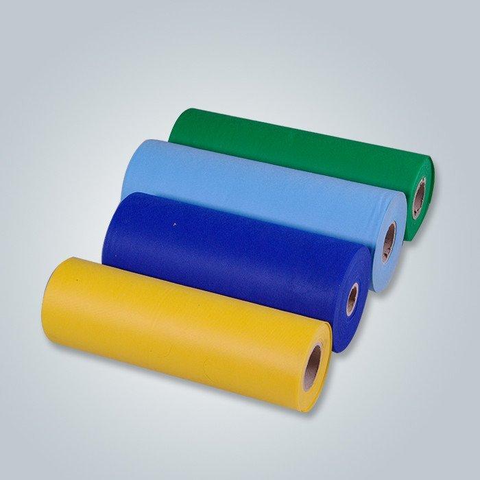 Fabricante no tejido de la tela, materias primas no laminadas del rollo de la tela para hacer el colchón