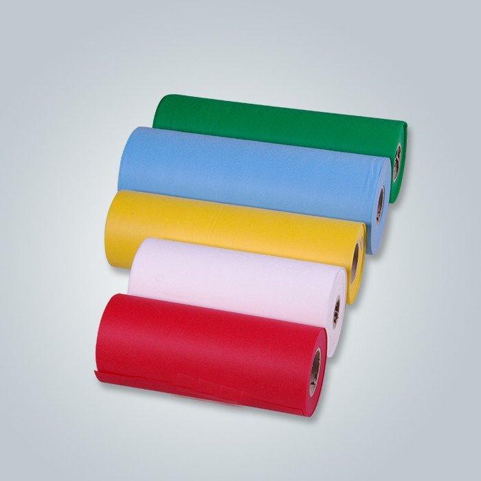 Billige 100% Jungfrau Material Lager Menge gedruckt Vliesstoff
