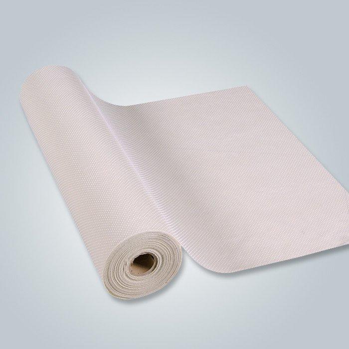 सस्ते 100% वर्जिन सामग्री स्टॉक लूत मुद्रित Nonwoven कपड़ा