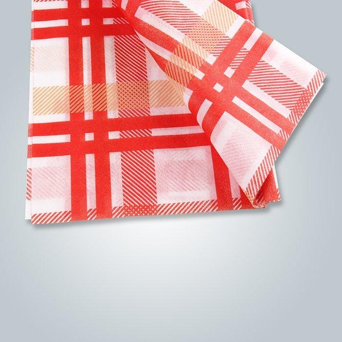 Impresión de manteles no tejidos / proveedor de tela no tejida