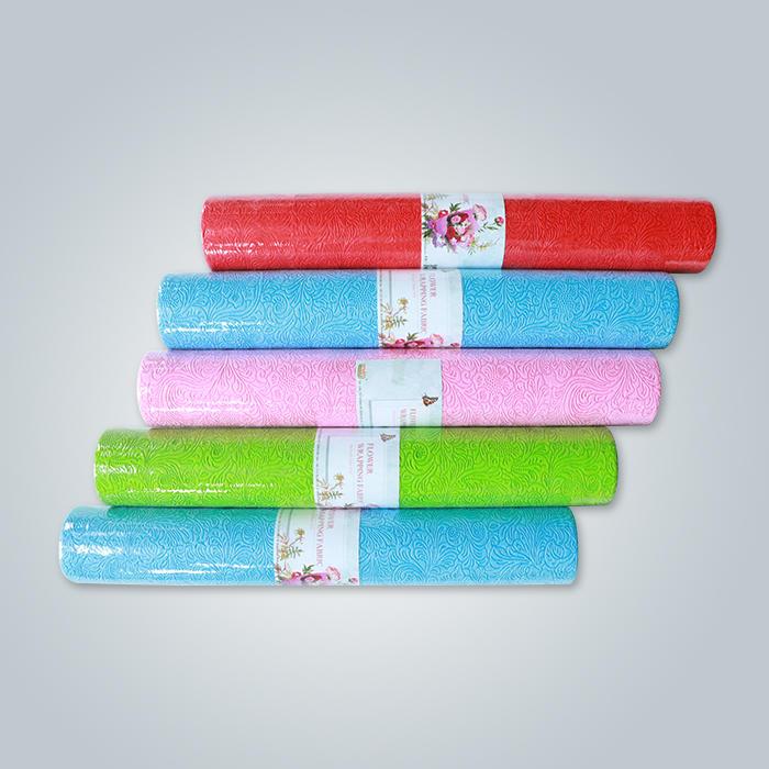 Rayson Brand New Pattern PP нетканый материал Цветочная упаковка с хорошими ценами