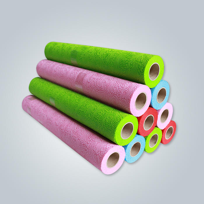 Flowers wrapping non woven fabric