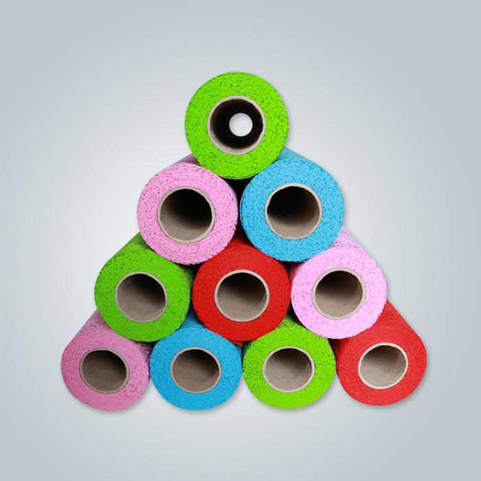 Mais vendidos Diferentes Tipos PP Spunbond Nonwoven For Flower Cover