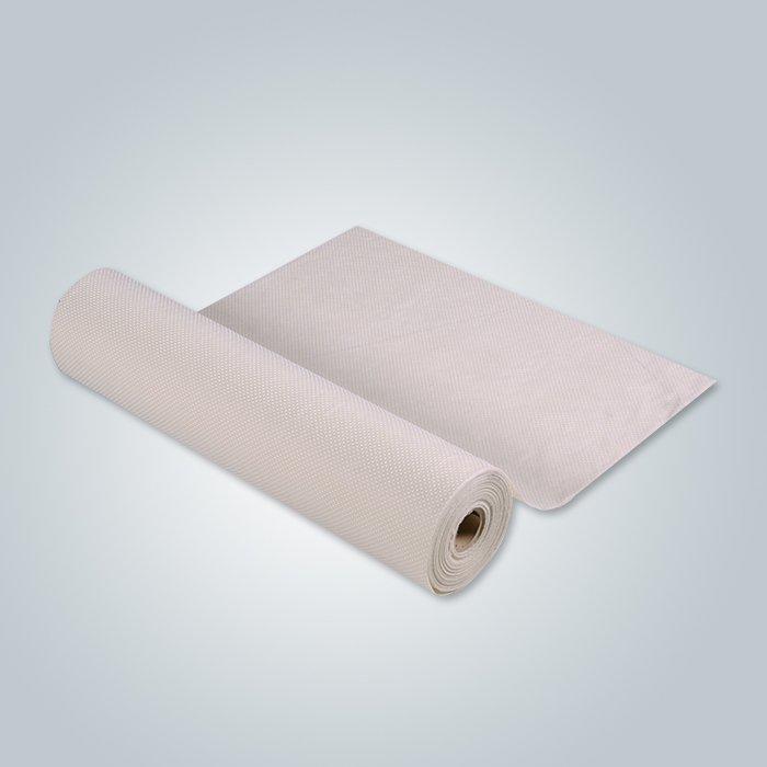 बेज पीवीसी बिंदीदार गैर बुना पीपी कपड़ा