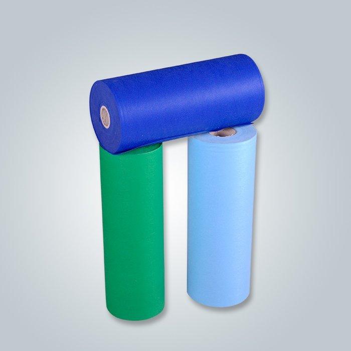 Tessuto non tessuta dei pp del fornitore del tessuto 30-150GSM variopinto all'ingrosso del filo-legame