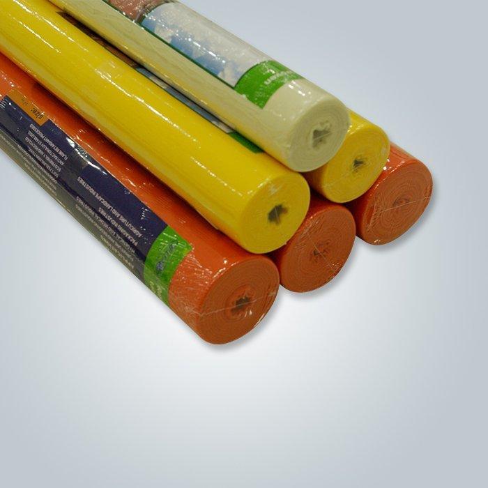Tela no tejida spunbonded de los pp 70gsm -120 gsm para la fabricación no hecha de los bolsos