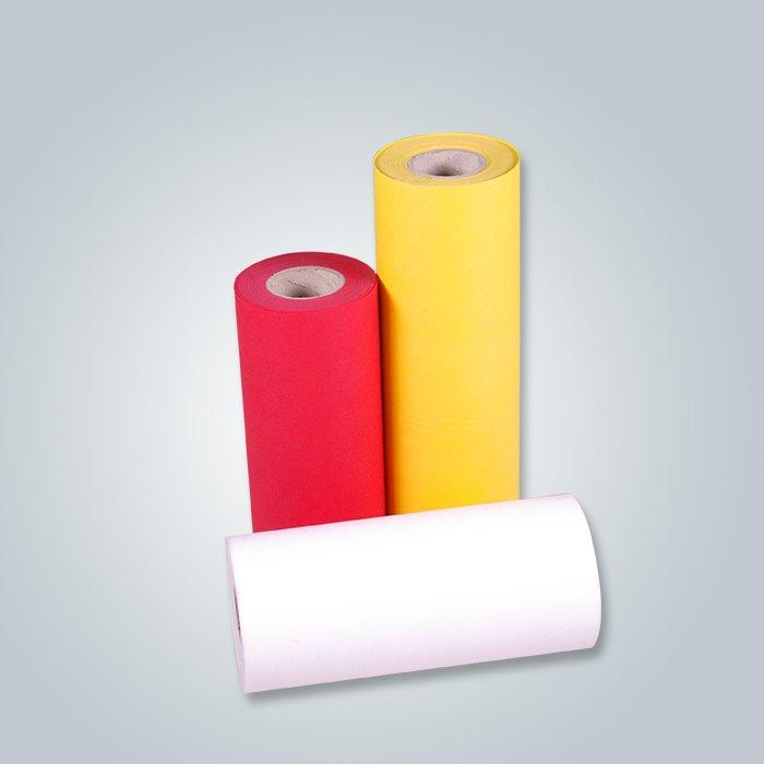 100% SS Nonwoven Fabric Spunbond PP Non Woven Fabric yellow