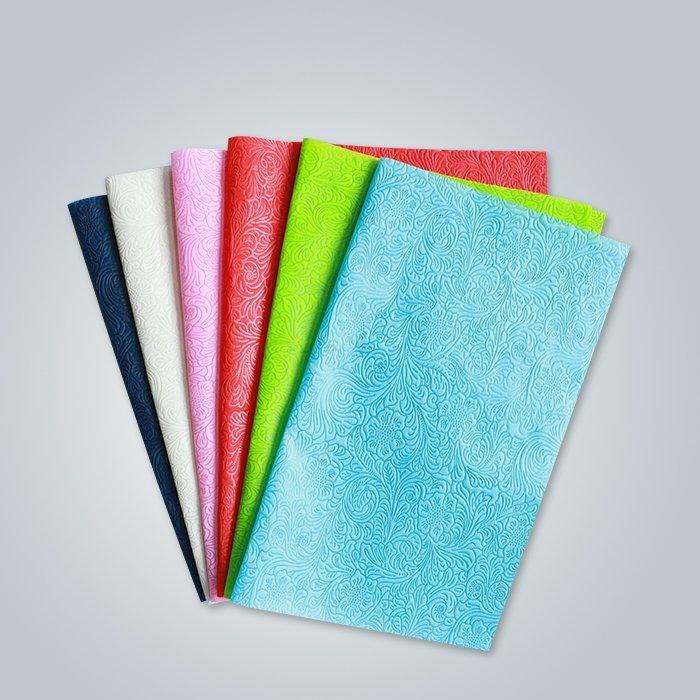 mantel no tejido de diferentes patrones