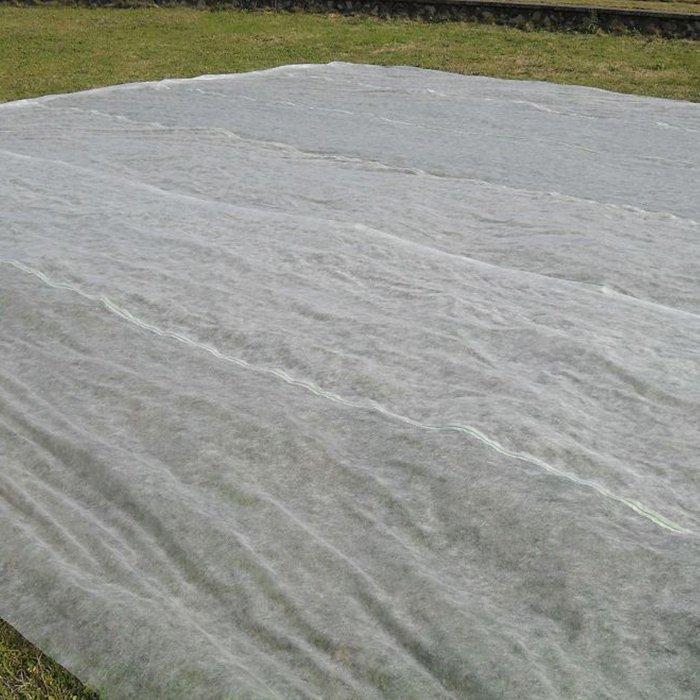 白い余分な幅の不織布