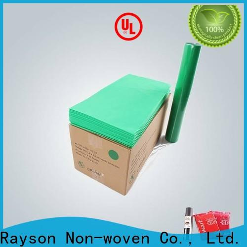 rayson nonwoven,ruixin,enviro home tablecloth sizes series for packaging