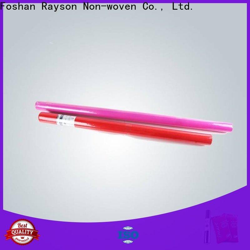 rayonson nonwoven, ruixin, enviro antibactérien pp non tissé série de tissus pour l'extérieur
