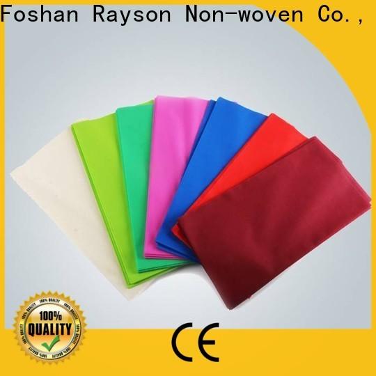 Usine textile de nappes de mariage propres pour l'emballage
