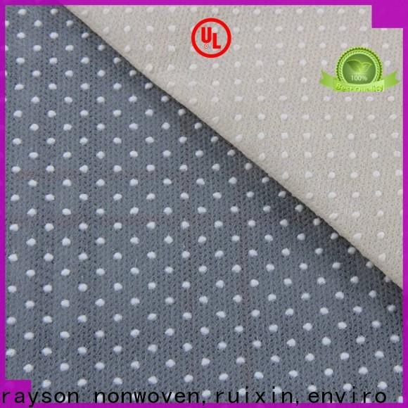 fabricants de tissus non tissés en pointillés fournisseur spunbonded pour toilettes
