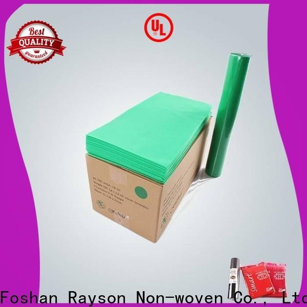 Rayonson Nonwoven, Ruixin, Enviro Stainproof Party Table couvre en gros pour l'intérieur