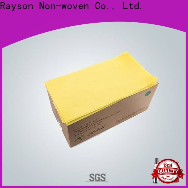 Rayonson Vlies, Ruixin, Umwelt ungiftige rote Tischdecke Fabrik für Tischdecke