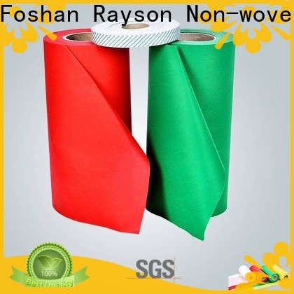 rayson nonwoven,ruixin,enviro flushable non woven fabric suppliers personalized for wrapping