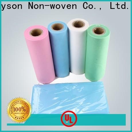 Rayons Vlies, Ruixin, enviro hygienische Kosten für Vliesstoffrolle direkt Verkauf für Bettlaken