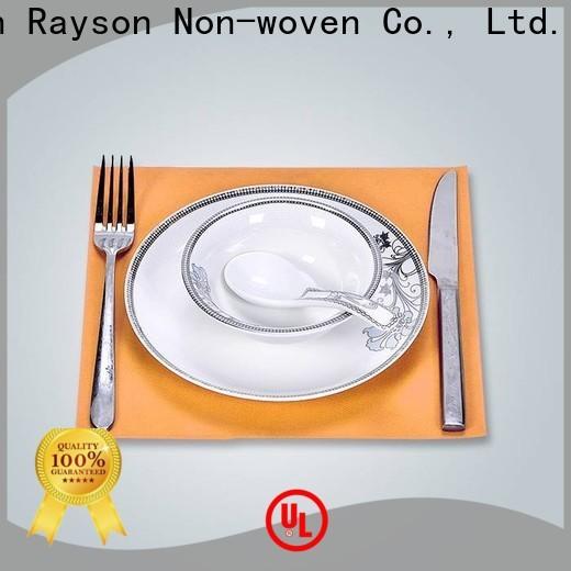Rayonson Vlies, Ruixin, Enviro Tischdecke Vlies Tischdecke Fabrik für Tischdecke