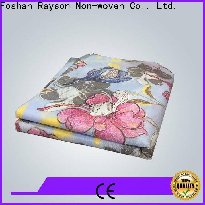 produttore di tessuto non tessuto rayson, ruixin, enviro fancy spunbond per la casa