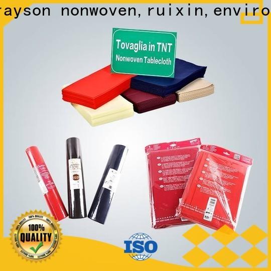 Rayson Vlies, Ruixin, Enviro Pe Baumwolltischdecken für den Außenbereich personalisiert