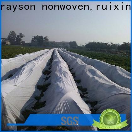 Rayonson Vlies, Ruixin, Enviro stabilisierte grüne Landschaft Stoff Fabrikpreis für Outdoor