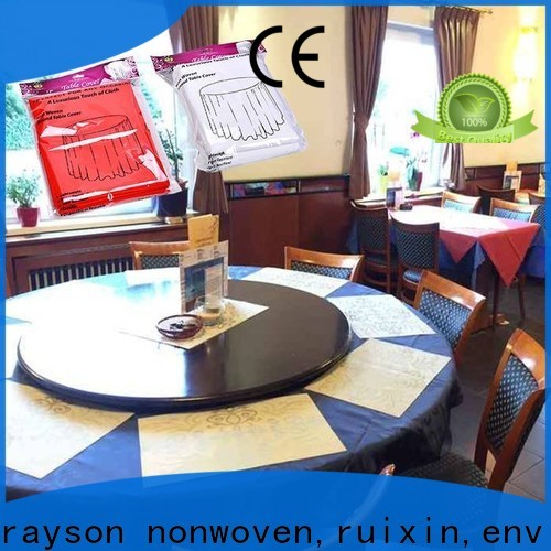 elegant raw material for non woven fabric time supplier for restaurant