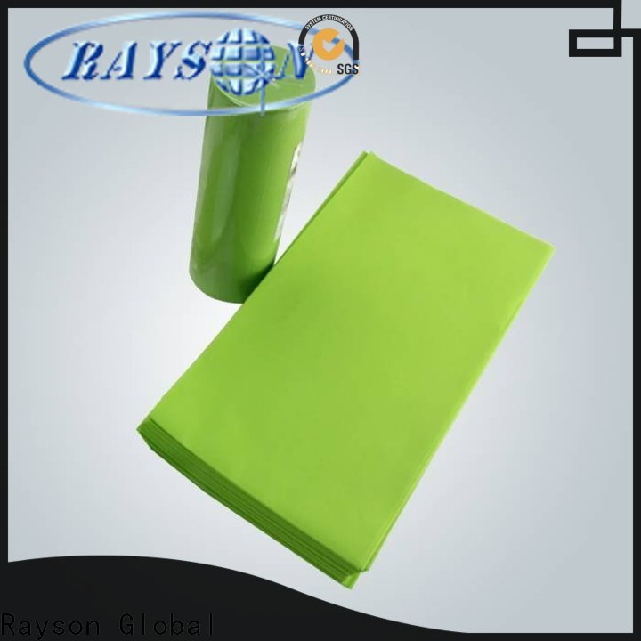 rayson nonwoven، ruixin، enviro أقمشة غير منسوجة مضادة للبكتيريا تستخدم في مصنع الزراعة للأغراض المنزلية