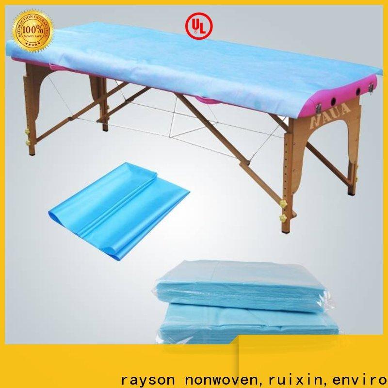 Rayson nonwoven, ruixin, industrie des non-tissés durables enviro avec un bon prix pour la maison