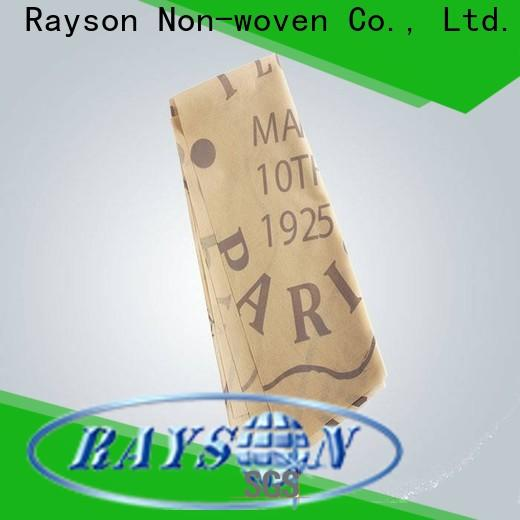 rayson non tessuto, ruixin, enviro elegante tovaglia stampata personalizzata informarsi ora per la tovaglia