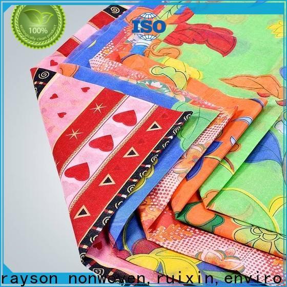 tovaglia stampata personalizzata non tessuta rayson, ruixin, enviro biodegradabile informarsi ora per la festa