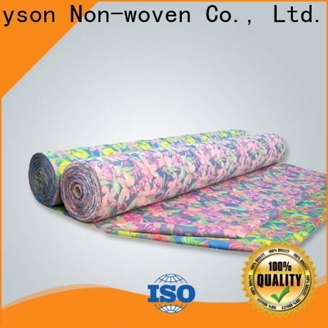 fabbrica di banchetti colorati per la produzione di tessuti non tessuti per la tavola