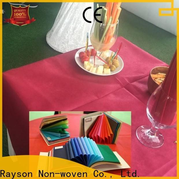 Rayons Vlies, Ruixin, Enviro Einweg runde Tischdecke Größen Fabrik für den Innenbereich
