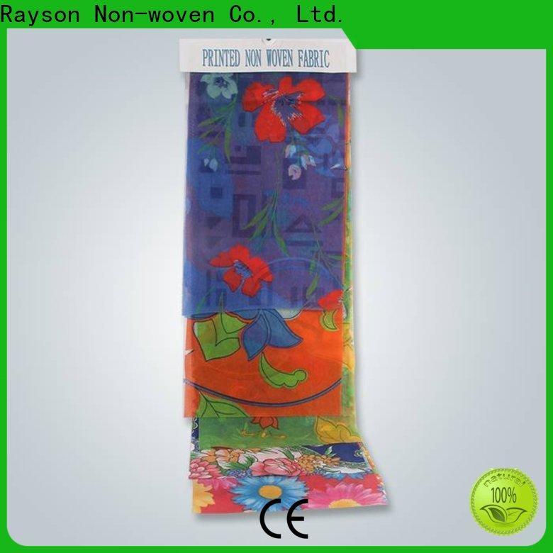 rayson nonwoven, ruixin, enviro per la stampa di produttori di materiali non tessuti con un buon prezzo per la festa