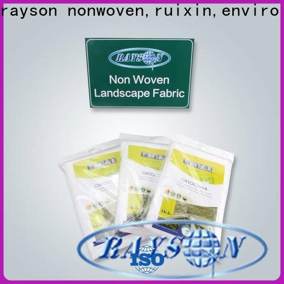 rayson محبوكة ، ruixin ، الشركة المصنعة لنسيج مكافحة الحشائش الأسود تنفس enviro للداخلية