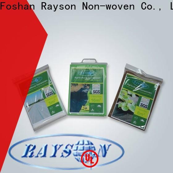 rayson nonwoven، ruixin، enviro النسيج النهائي أثيرت مصنع أسرة حديقة للبطانية