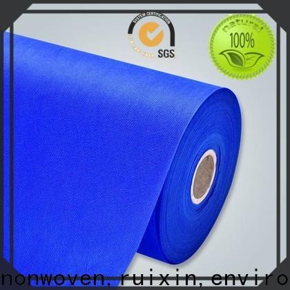 fabricant de tissu non tissé spunbond matelassé polypropylène personnalisé pour magasin