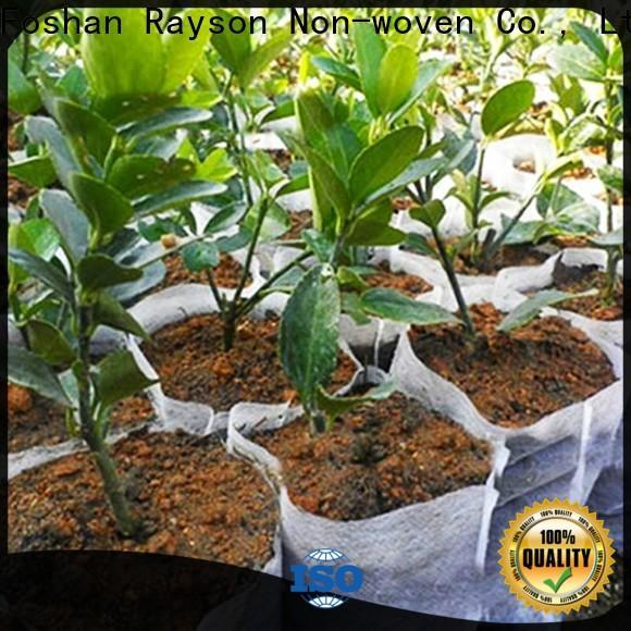 rayson nonwoven، ruixin، enviro نسيج أسود نباتي لمنع الأعشاب الضارة بسعر جيد للداخلية