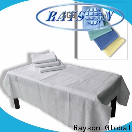 rayson nonwoven، ruixin، enviro Medical القابل للتصرف غير المنسوجة لغرفة النوم