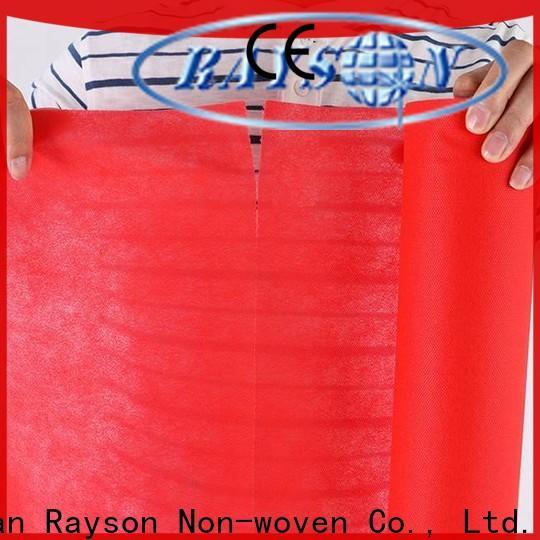 rayson محبوكة ، ruixin ، قطع enviro تصميم لفة غير المنسوجة النسيج للملابس