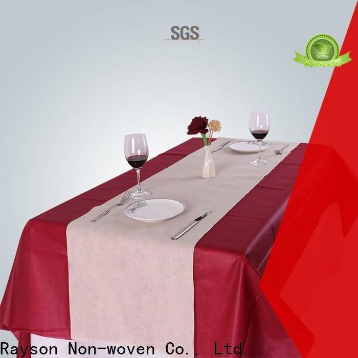 Rayons Vlies, Ruixin, Enviro bedruckbare Tischdecken UK personalisiert für Hotel
