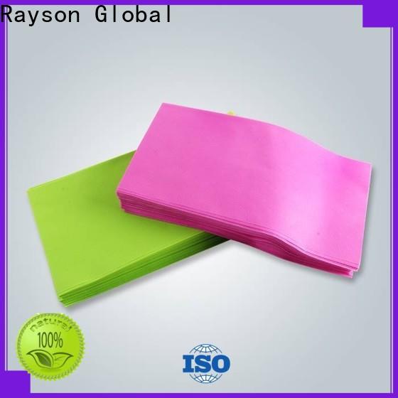 No tejido del rayson, ruixin, diseño no tejido biodegradable de la tela del spunlace del enviro para el hotel