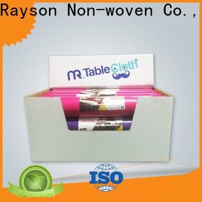 Rayonson Nonwoven, Ruixin, Série de sets de table en tissu antibactérien enviro pour l'extérieur