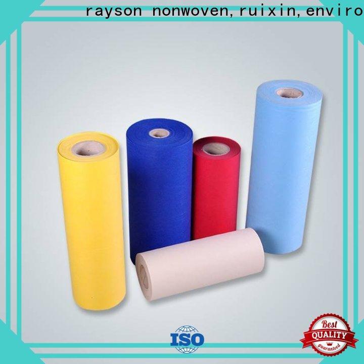 Rayoson no tejido, ruixin, enviro mantel blanco grande no tejido serie para embalaje