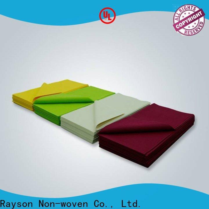rayson nonwoven, ruixin, enviro enviro diseño de mantel navideño para ropa
