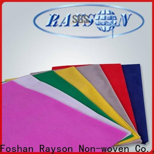 rayson nonwoven, ruixin, enviro tejido antibacteriano en venta fábrica para embalaje