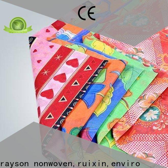 Rayson Vlies, Ruixin, Enviro Einweg-Bostik Vlies Großhandel für Tisch